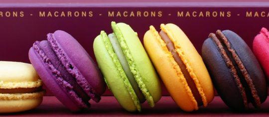 Achat de macarons