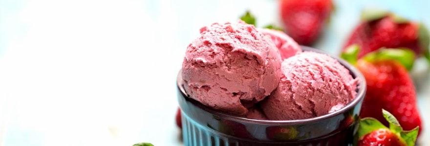 Recettes de glaces et de dessert glaces en ligne