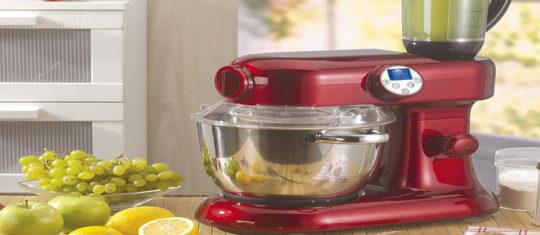 Un robot pâtissier multifonction