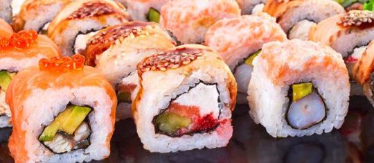 Faire livrer des sushis